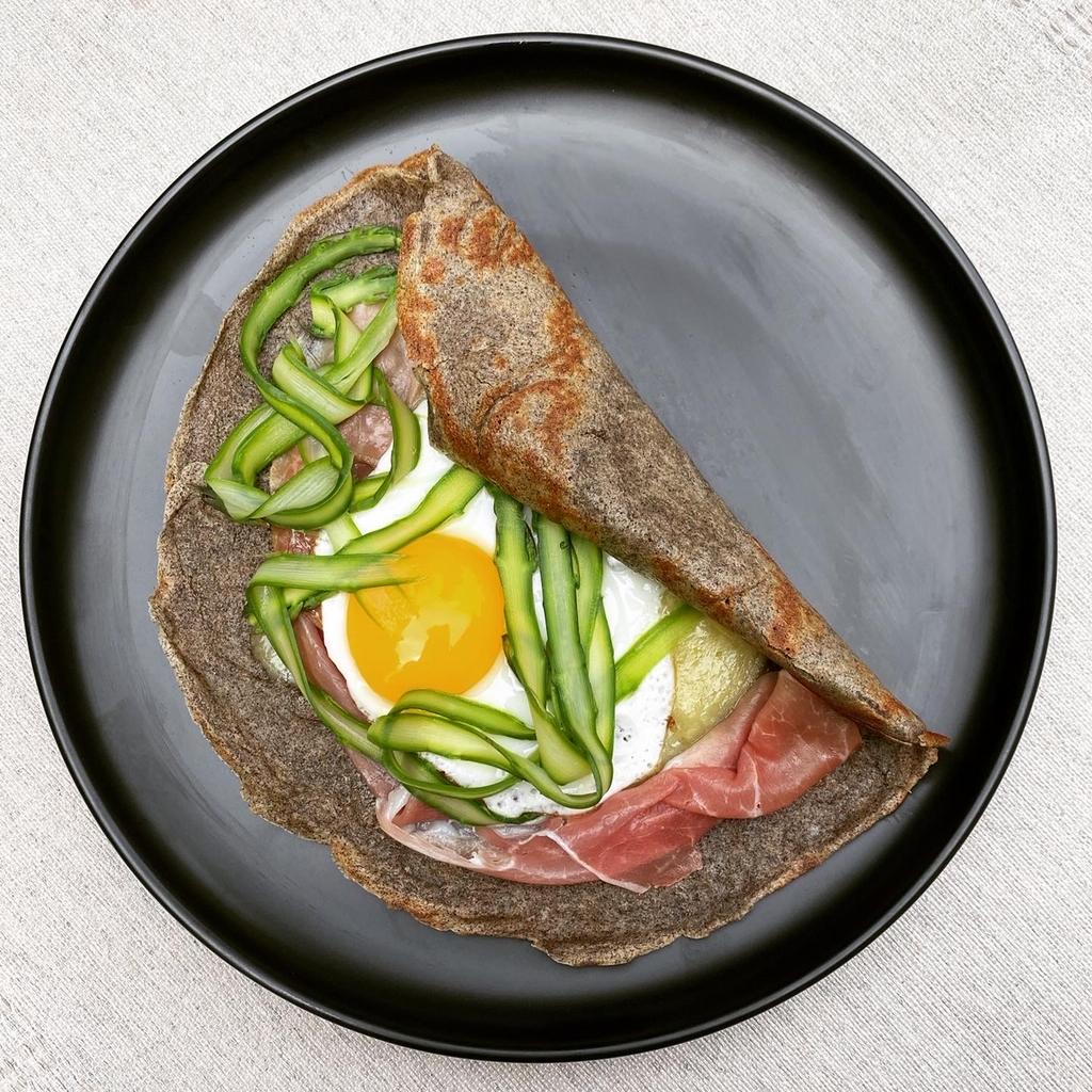 Buckwheat Breakfast Crepes